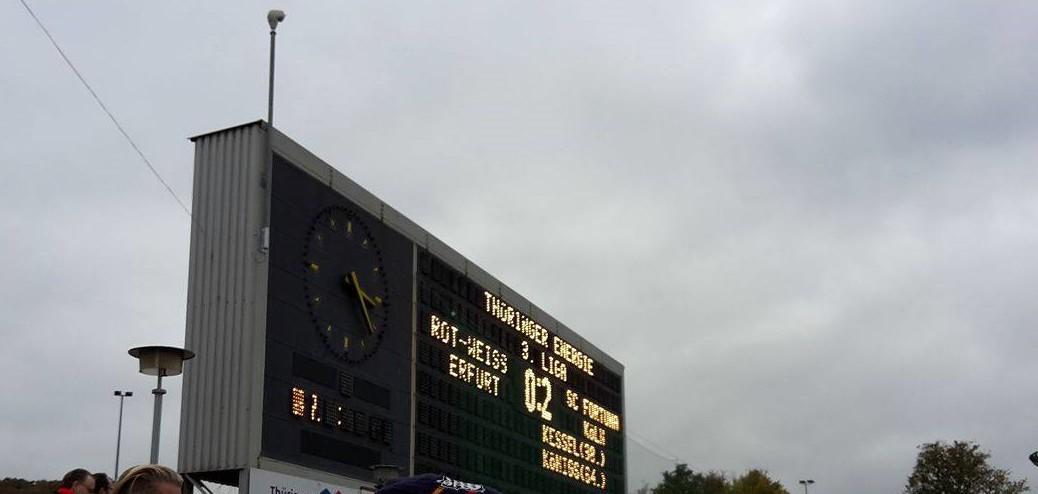 Erfurt 0:2 Fortuna